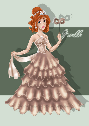Giselle  - disney-leading-ladies Fan Art