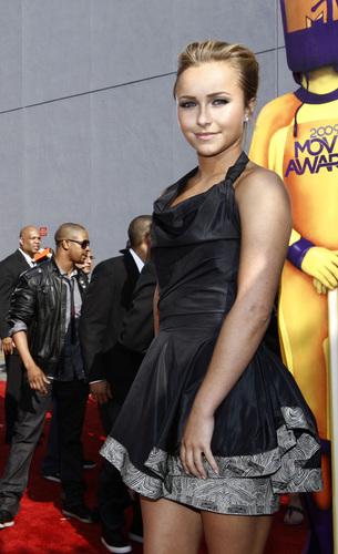 Hayden at the MTV Movie Awards