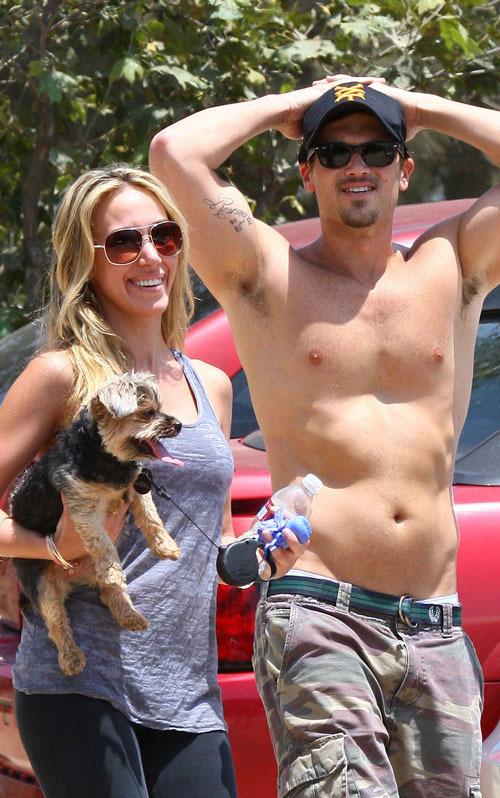 Haylie Duff with Nick Zano