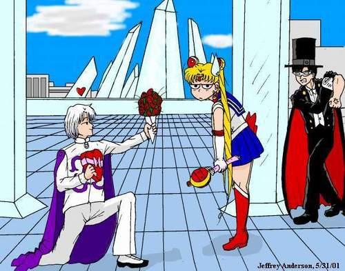 Hero VS Villain: Tuxedo Kamen Vs Prince Diamond