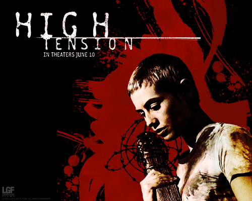 Horror films achtergrond containing anime called High Tension achtergronden