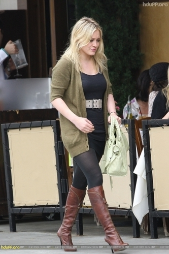 Hilary in Beverly Hills
