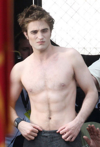 robert pattinson twilight kiss. Robert Pattinson on Italian