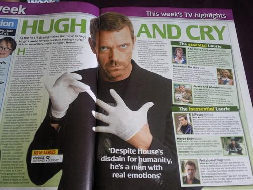Hugh Laurie - Tv Mag