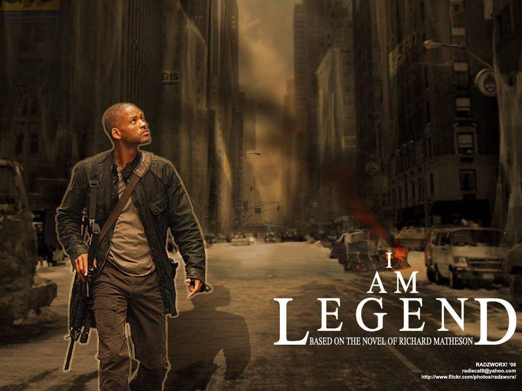 I Am Legend Monsters Dogs Box Movies I Am Legend  2007
