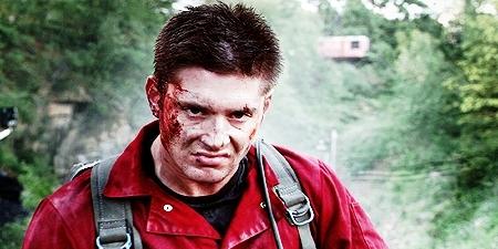 Jensen in My Bloody Valentine 3D