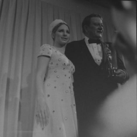 John Wayne & Barbra Streisand