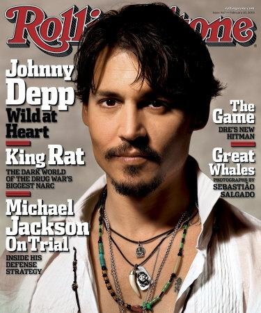 Johnny Depp in R.S door LeggoMyGreggo