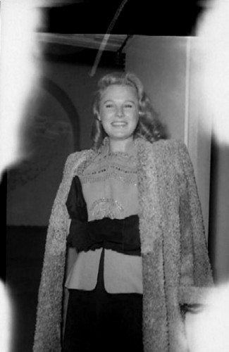 June Allyson - candid