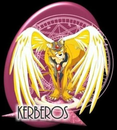 Cardcaptor Sakura wallpaper probably with a red cabbage titled Kerberos