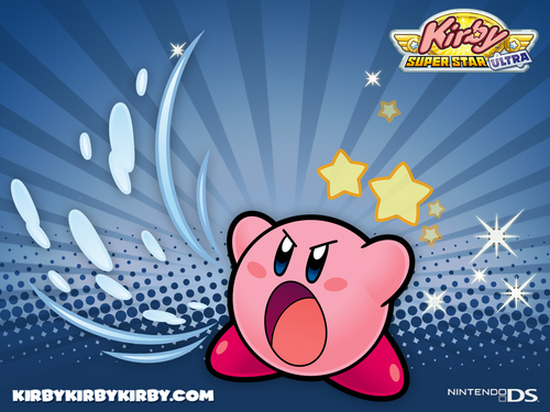 Kirby Wallpaper Possibly With Anime Called Super Star Ultra