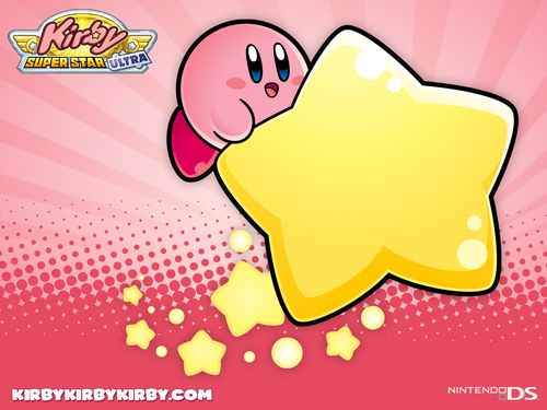 Kirby Wallpaper Possibly Containing Anime Called Super Star Ultra