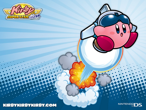 Kirby Wallpaper Probably Containing Anime Called Super Star Ultra