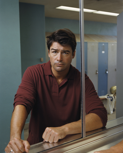 Kyle Chandler wallpaper probably with a revolving door, a drafting table, and a sign entitled Kyle Chandler