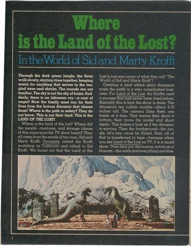 Land of the Lost مضمون (page 2)