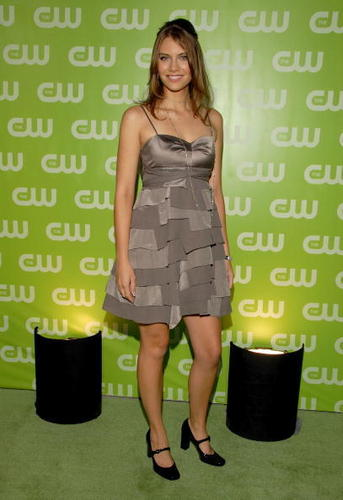 Lauren Cohan achtergrond containing a well dressed person and a hip boot called Lauren Cohan