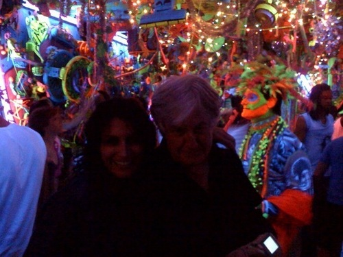 Lisa at Kenny Scharf's party