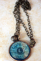 London Stamp Necklace