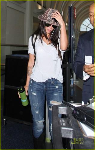 Megan at LAX