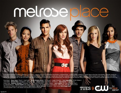 Melrose Place HQ photoshoot