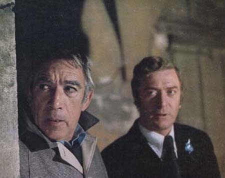 Michael Caine and Anthony Quin