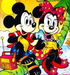 Mickey dan Minnie