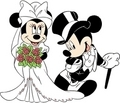 Mickey and Minnie Wedding - mickey-and-minnie photo