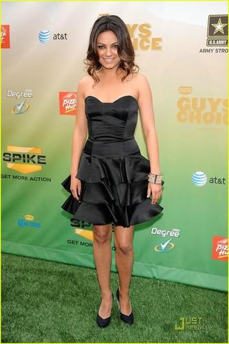 """Mila @ Spike TV's 2009 """"Guys Choice"""" Awards"""