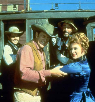 Gunsmoke images Miss Kitty & Matt wallpaper and background photos