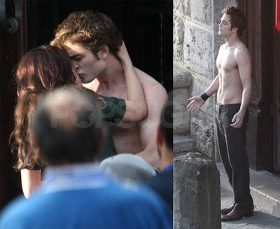 NEW MOON-ITALY FILMING