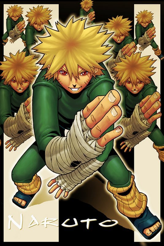 Naruto in Green Jumpsuit