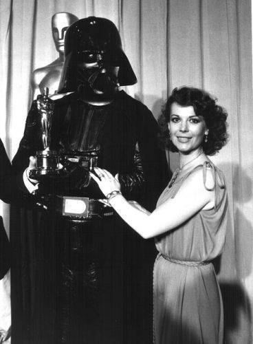 Natalie and Darth Vader