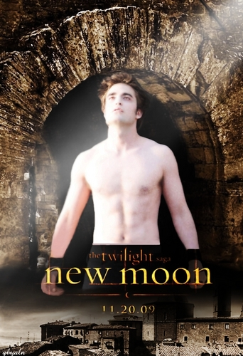 New Moon Edward poster