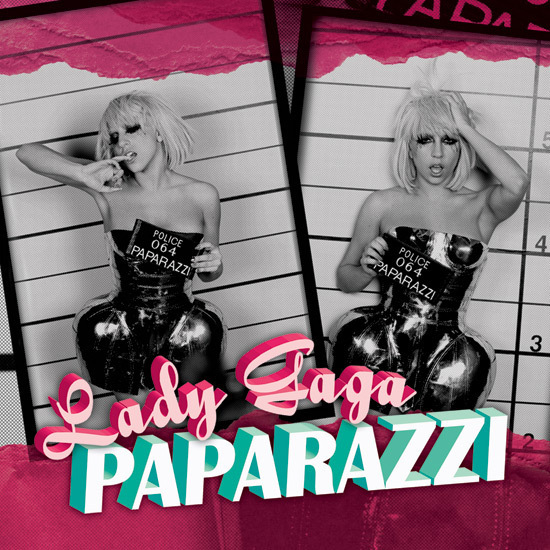 Official Paparazzi single cover - Lady GaGa 550x550