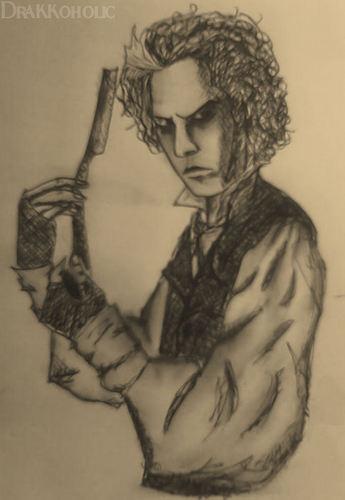 One of my Sweeney Drawings