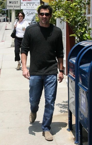 Patrick Dempsey Leaving Lunch In Brentwood