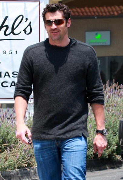 Patrick Dempsey Leaving Lunch In Brentwood - patrick-dempsey photo