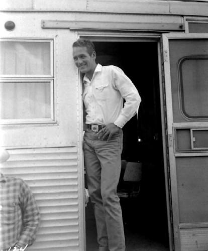 Paul Newman - candid