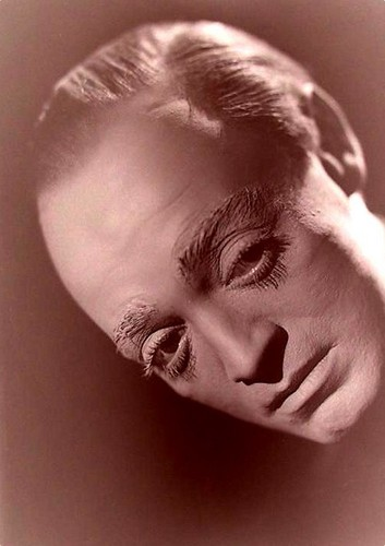 Peter Lorre in make-up