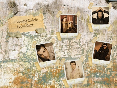 Photo Shoot - zachary-quinto Wallpaper