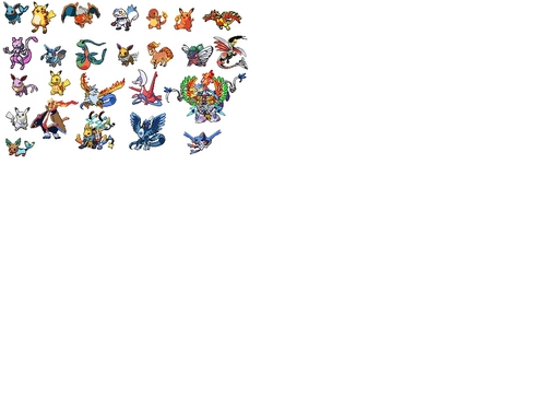 Pokemon Sprites