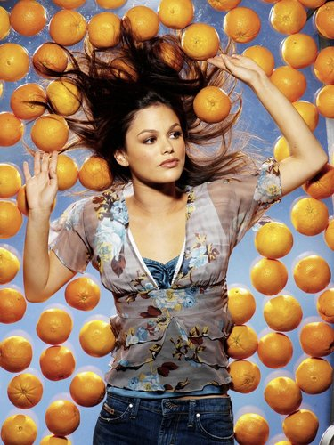 Rachel Bilson wallpaper probably with a farmer's market, a pumpkin, and an apricot entitled Rachel Bilson Photoshoot