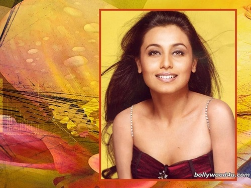 Rani Mukherjee kertas dinding probably containing attractiveness and a portrait titled Rani Mukherjee