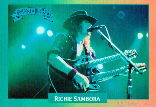 Bon Jovi wallpaper containing a guitarist and a concert entitled Richie Sambora