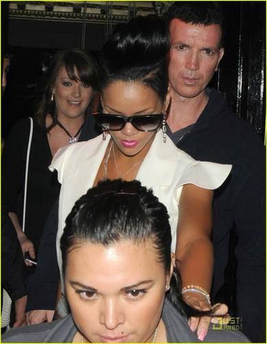Rihanna in London