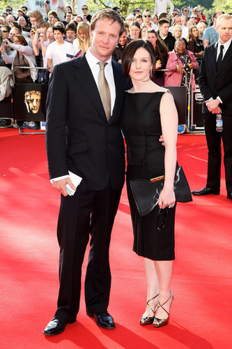 Rupert Penry-Jones and his wife,Dervla Kirwan - BAFTA Awards