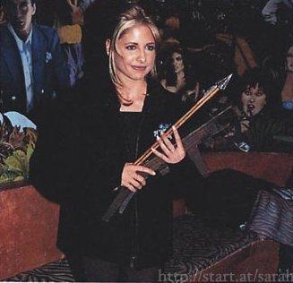 SMG as Buffy Summers