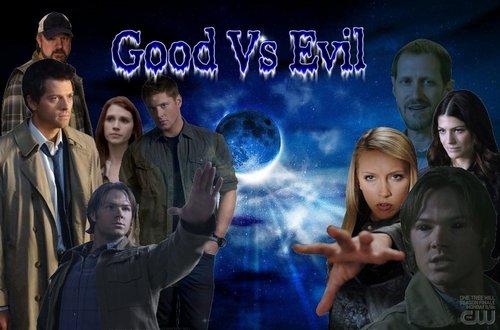 SPN Lucifer Rising good vs evil