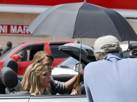 Sarah Films 'ManEater' In LA