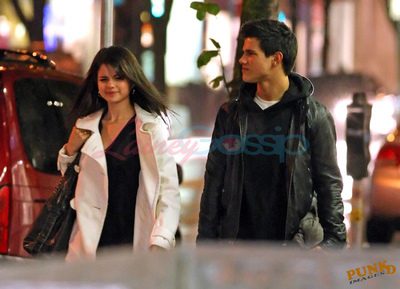 Selena Gomez and Taylor Lautner